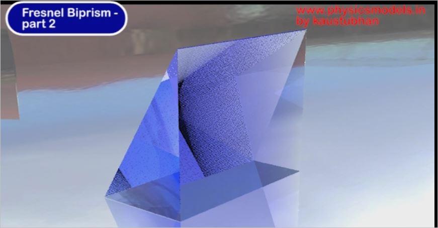 Light Interference-Fresnel Biprism-2A